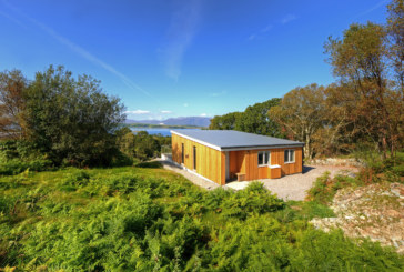 NIBE ASHP system at Scottish eco lodges