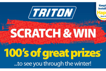 New Triton campaign keeps installers happy