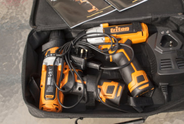 Triton Tools 12v twin pack