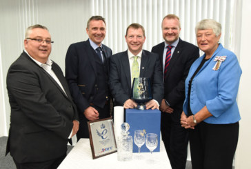 Adey presented with second Queen's Award