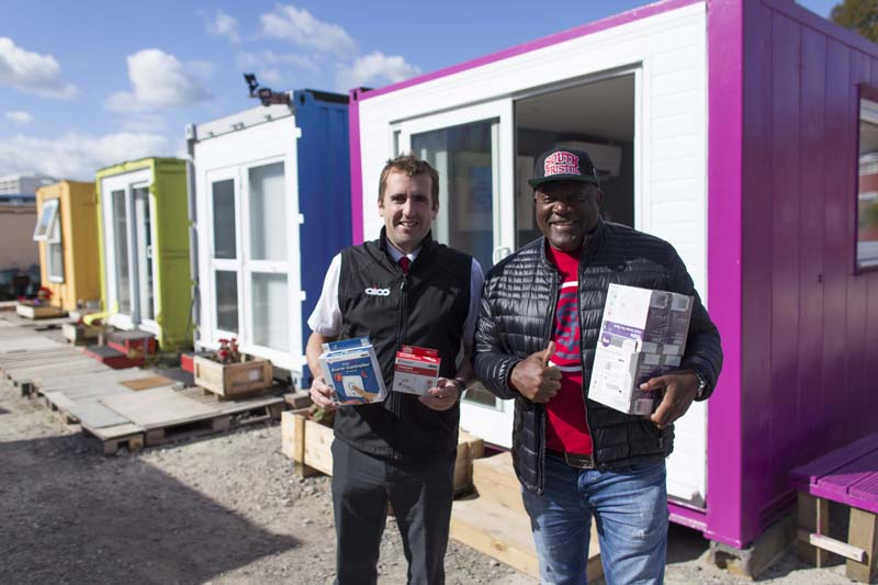 Aico donates alarms to support Bristol homeless charity