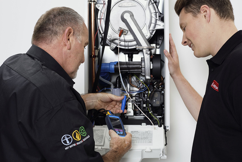 Ariston explores condensing boilers and controls technology