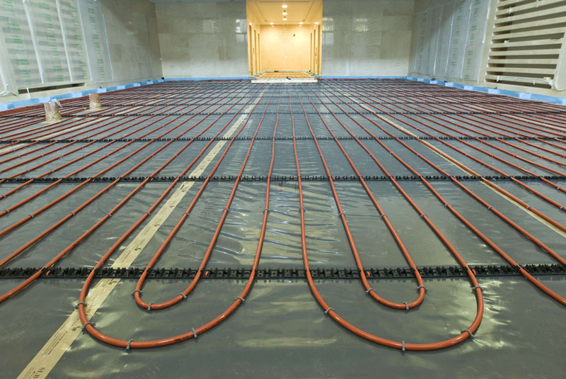 BPF offers support for warm water UFH systems