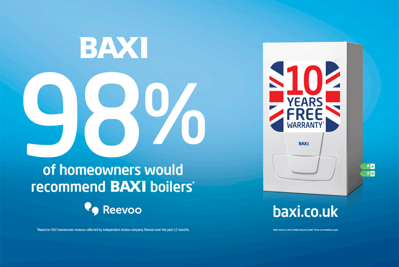 Baxi launches #Baxi98% competition
