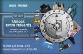 More rewards available for Baxi Works installers