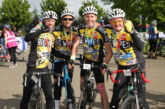 In the saddle with Big Wipes