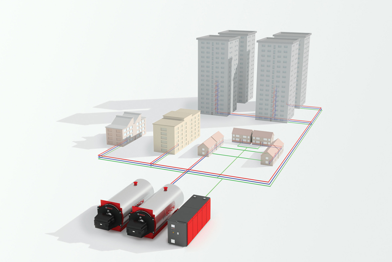 Bosch publishes heat networks guide
