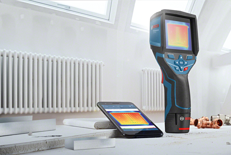 Bosch launches GTC 400 thermal camera