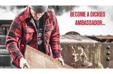 Dickies Workwear launches Ambassadors programme