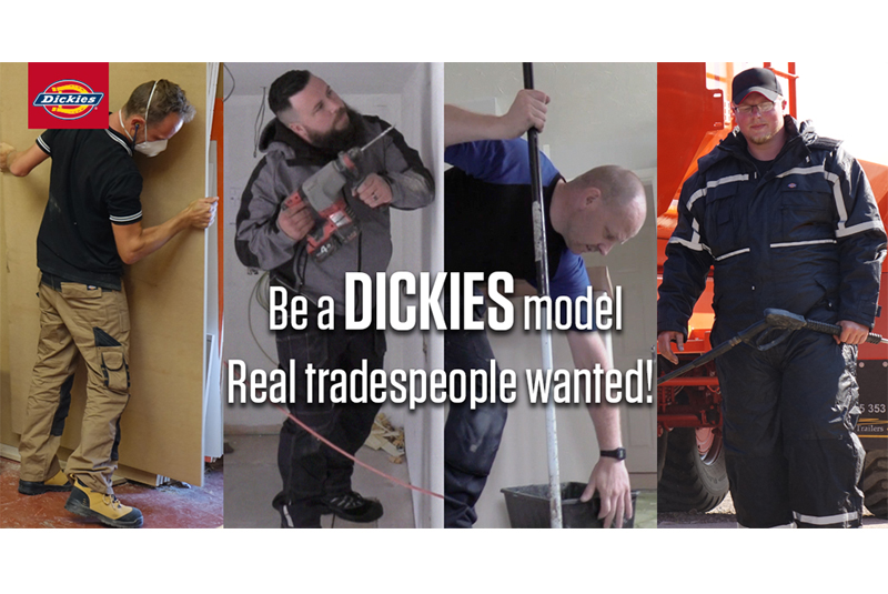 Dickies launches search for 'real' models