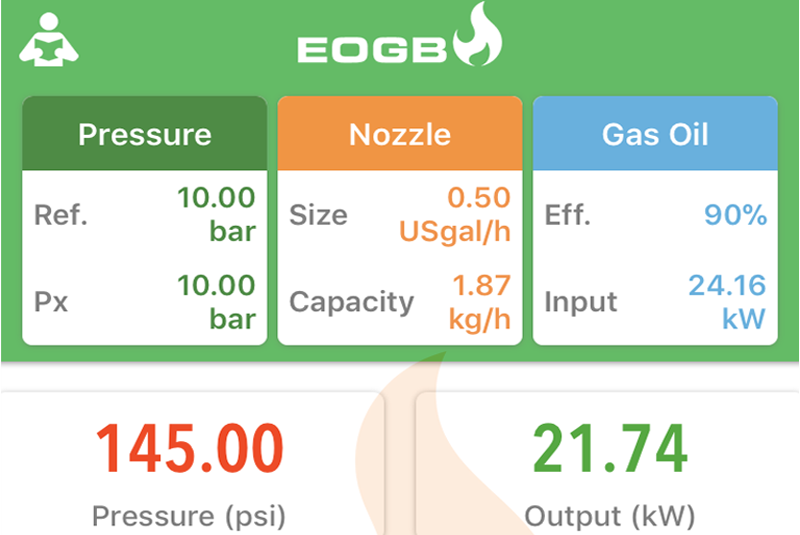 EOGB launches updated oil nozzle calculator app