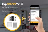 EnviroVent extends app across MVHR range