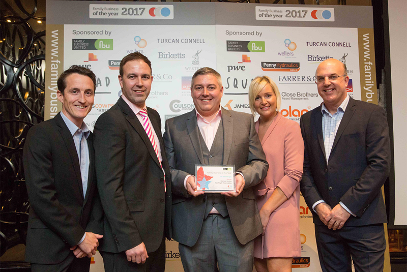 Essex heating firm takes home Family Business Award