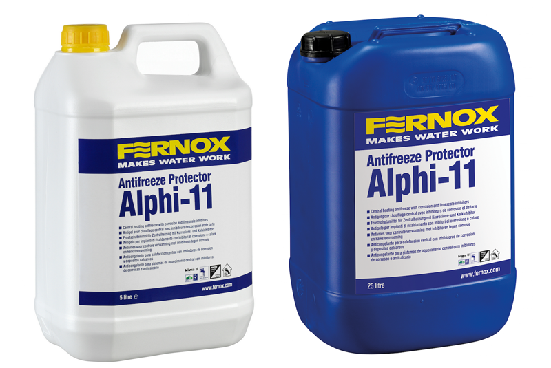 Protecting heating systems with Fernox