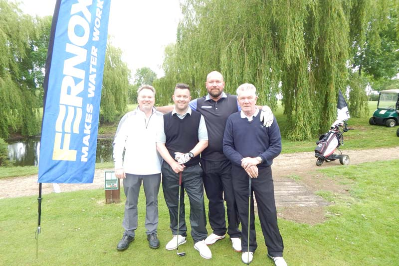 Fernox gets into the swing for charity golf day