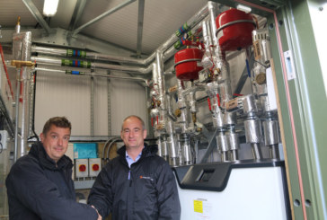Flagship district heating system installed