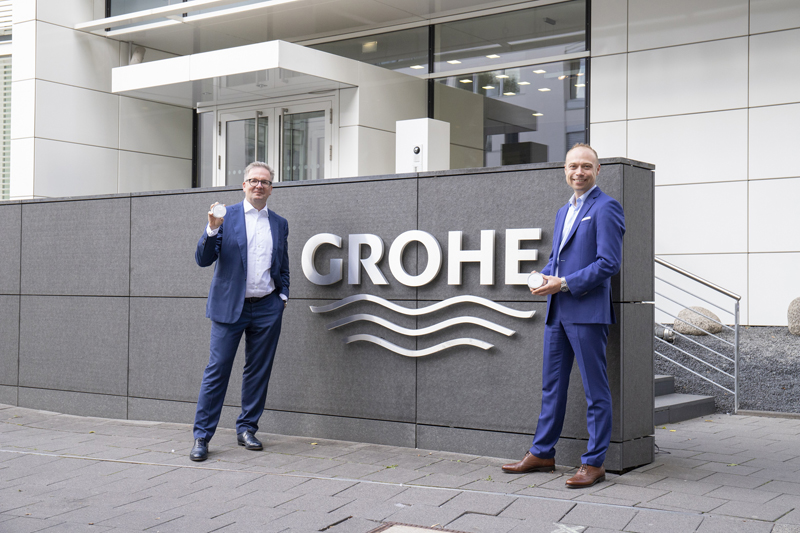 GROHE partners up with relayr IoT expert