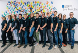 Geberit apprentices complete Warsaw social project