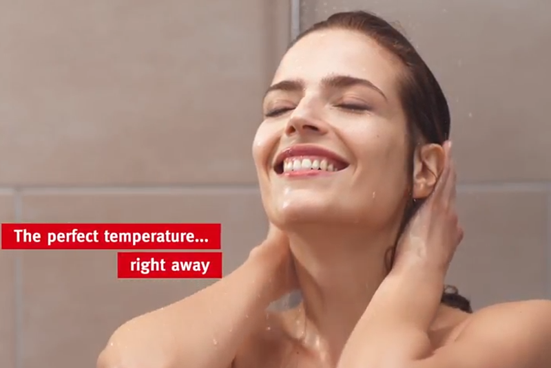 Glow-worm launches 'Love Your Shower' campaign