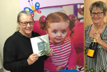 Grant continues to raise money for Julia's House