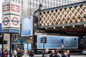Grohe takes over Waterloo with new billboard campaign
