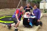 Hilti donates to WellChild's Helping Hands project team