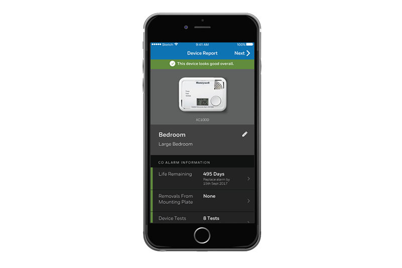 Honeywell CO app launched