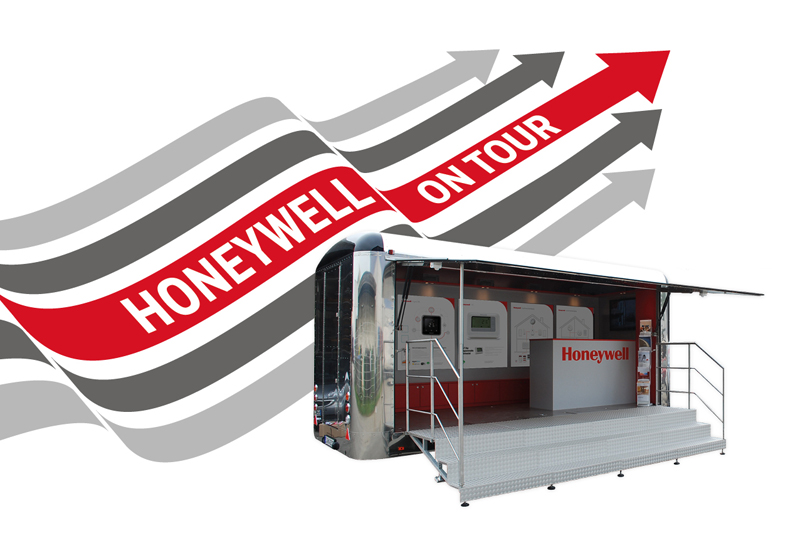 Honeywell hits the road
