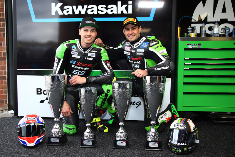 A season of contrasts for the JG Speedfit Kawasaki team