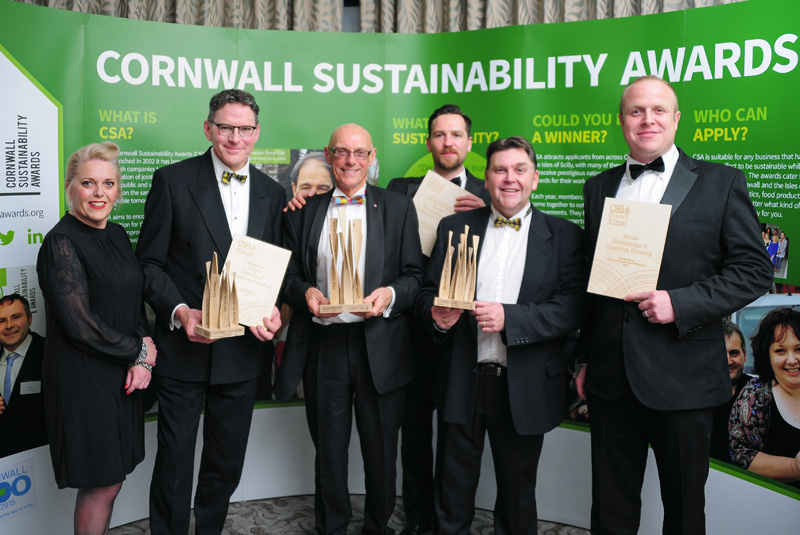 Awards for Cornwall's Coastline Housing & Kensa Partnership