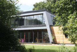 Kensa heat pump installed in eco home