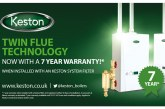 Longer warranties for Keston Boilers