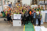 Mira celebrates two millionth Flight shower tray