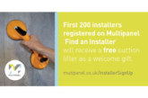 Multipanel launches Find an Installer Scheme