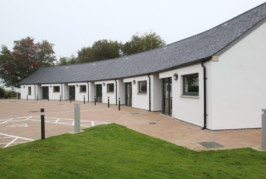 Off-grid housing development heats up with Nibe