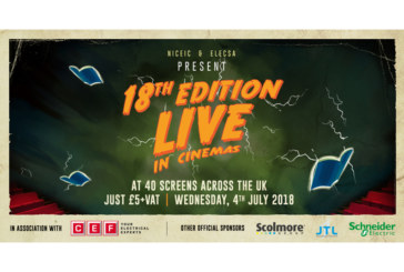 Tickets selling fast for 18th Edition Live
