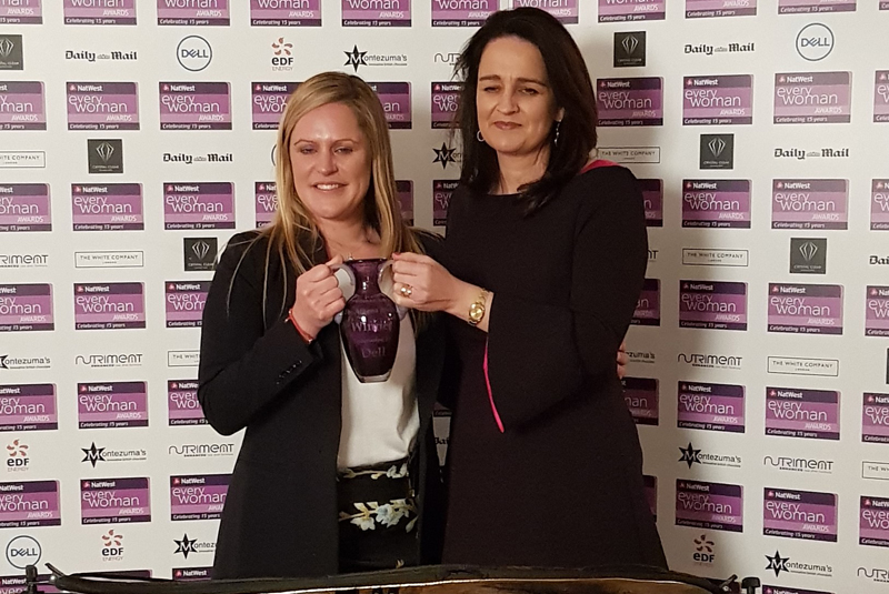 Anne Timpany of On Tap Plumbers wins Everywoman Award