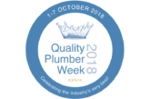 Quality Plumber Week kicks off
