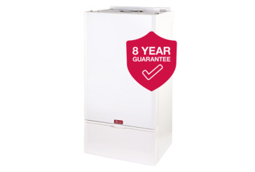 Eight year guarantee for QuanTec boilers