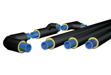 Rehau expands polymer district heating pipe range