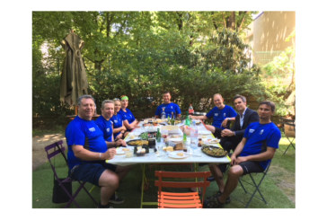 Saniflo team completes charity cycle