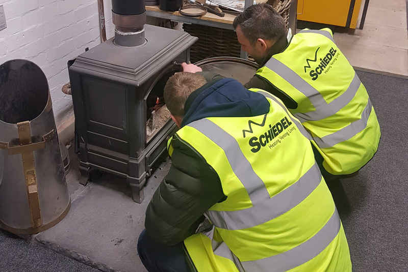 New solid fuel heating course from Schiedel