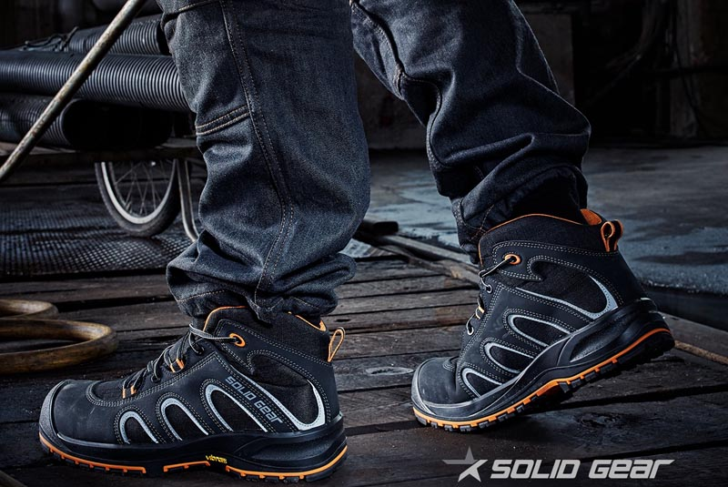 GIVEAWAY: Solid Gear Falcon Safety Boot