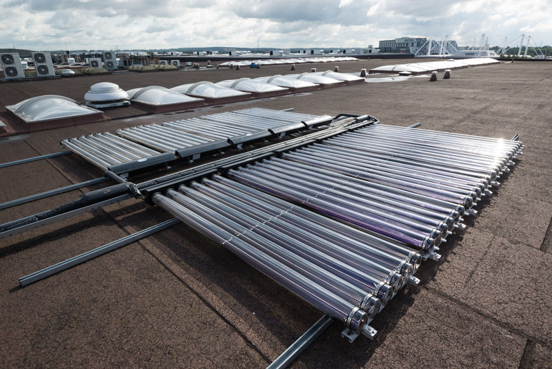 Stokvis Solar at Birmingham International
