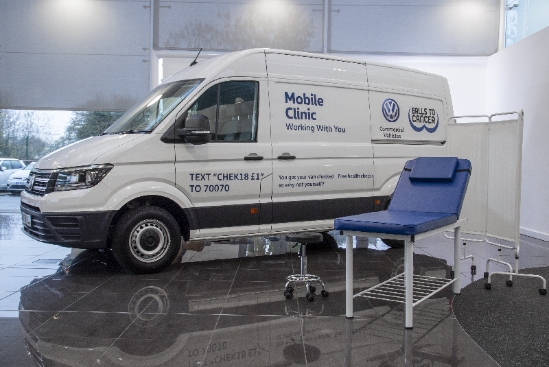 Volkswagen to support Male Health Awareness month