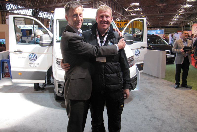 Volkswagen to celebrate Hug a Plumber Day at CV Show 2018