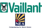 Vaillant partners with NEA to support fight against fuel poverty