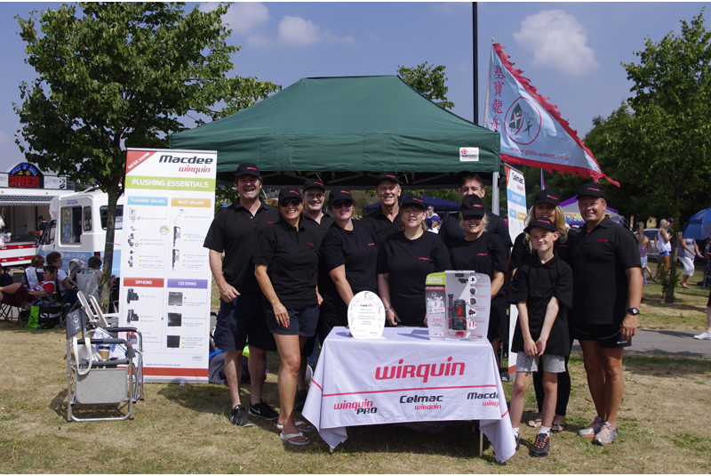 Wirquin competes in Dragon Boat Race