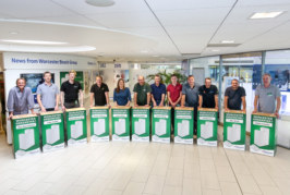 Installers build their own Worcester boilers
