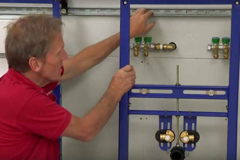 VIDEO GUIDE: Installing an Abacus 1.18m basin frame